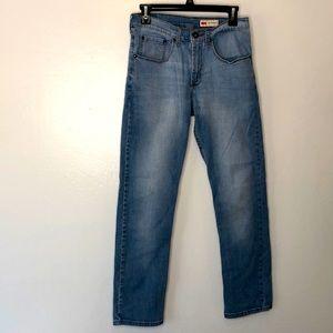 Wrangler slim straight jeans size 29